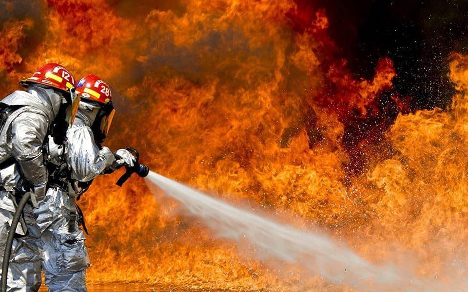 sistema de combate a incêndio